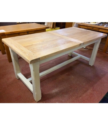 Carennac Oak Farmhouse Extending Table (180 x 90)