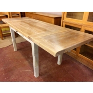 carennac oak farmhouse extending table 130 x 75