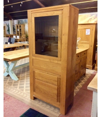 Pierson French Oak Display Cabinet