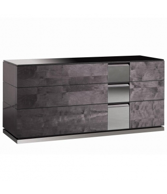 Heritage 3 Drawer High Gloss Chest
