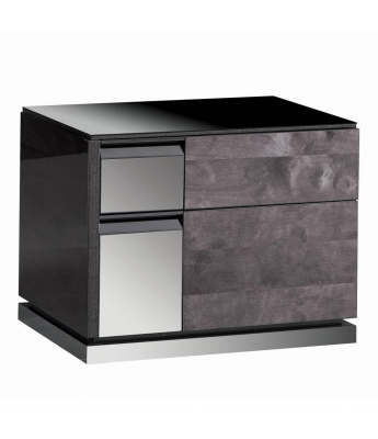Heritage High Gloss Nightstand