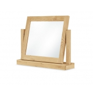 moreno oak gallery mirror