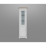 moreno painted glazed display cabinet