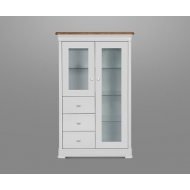 moreno painted display cabinet